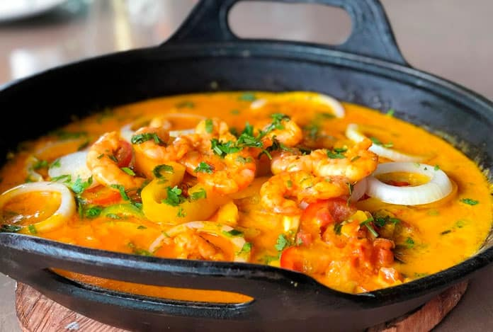 Brazilian Moqueca: recipe from Bahia.