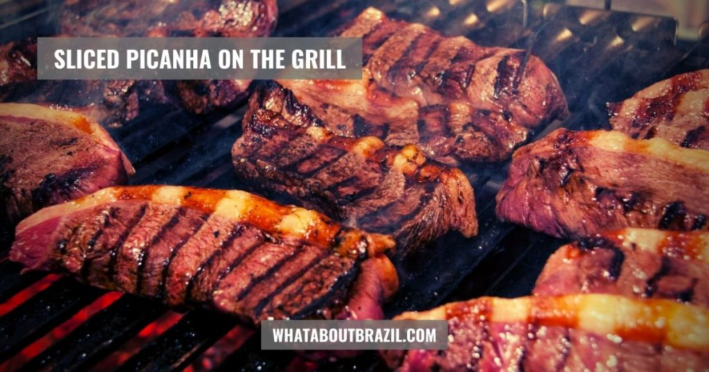 What Is Picanha? Sliced Picanha On The Grill