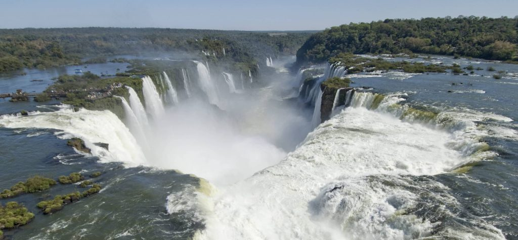 Where Are The Iguazu Falls In Brazil? Devil's Throat